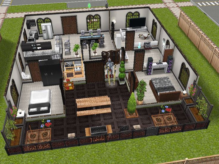 modern design inspired  sims freeplay house idea. 17 Best images about The Sims Freeplay   House Designs on