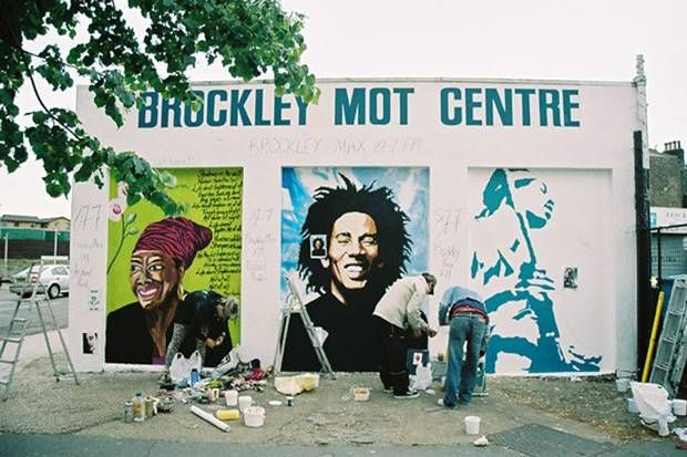 1000 images about lewisham public street art on pinterest for Bob marley mural