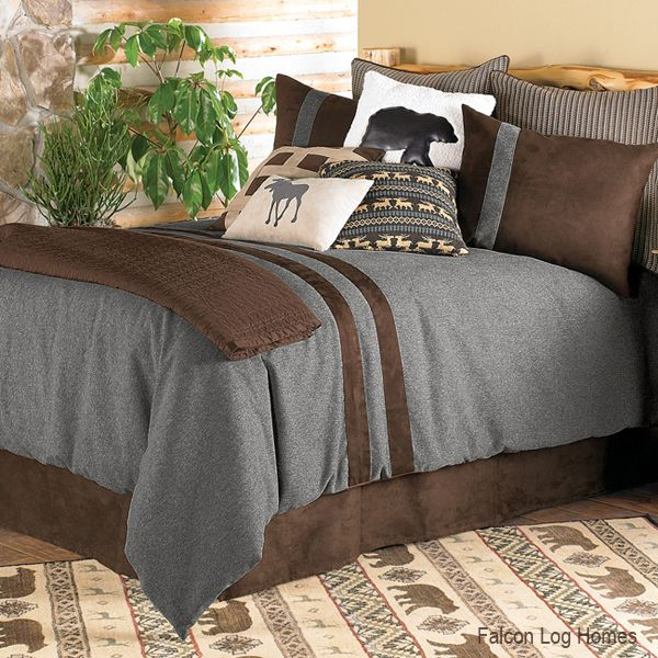 Brownstone Rustic Duvet Cover | Home decorating ...