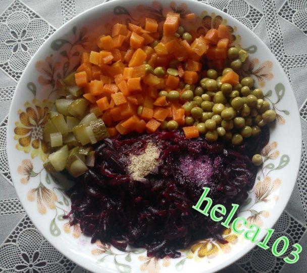 Cviklový šalát na večeru (fotorecept) - obrázok 2