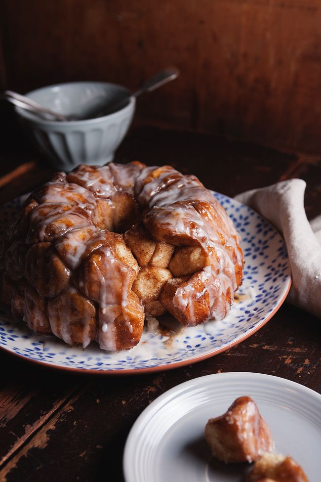 monkey bread, from scratch, sans canned gross biscuits
