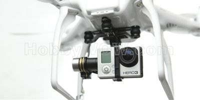 CUSTOMIZED FOR GOPRO HERO3  The H3-2D gimbal is designed for the GoPro Hero3, and remote start/stop shooting, video transmission (video downlink required), etc of the GoPro Hero3 will be supported by future firmware upgrades. - See more at: http://www.hobbywow.com/en-dji-h3-2d-zenmuse-gopro-gimbal-p234562.htm#sthash.ociRLiJd.dpuf