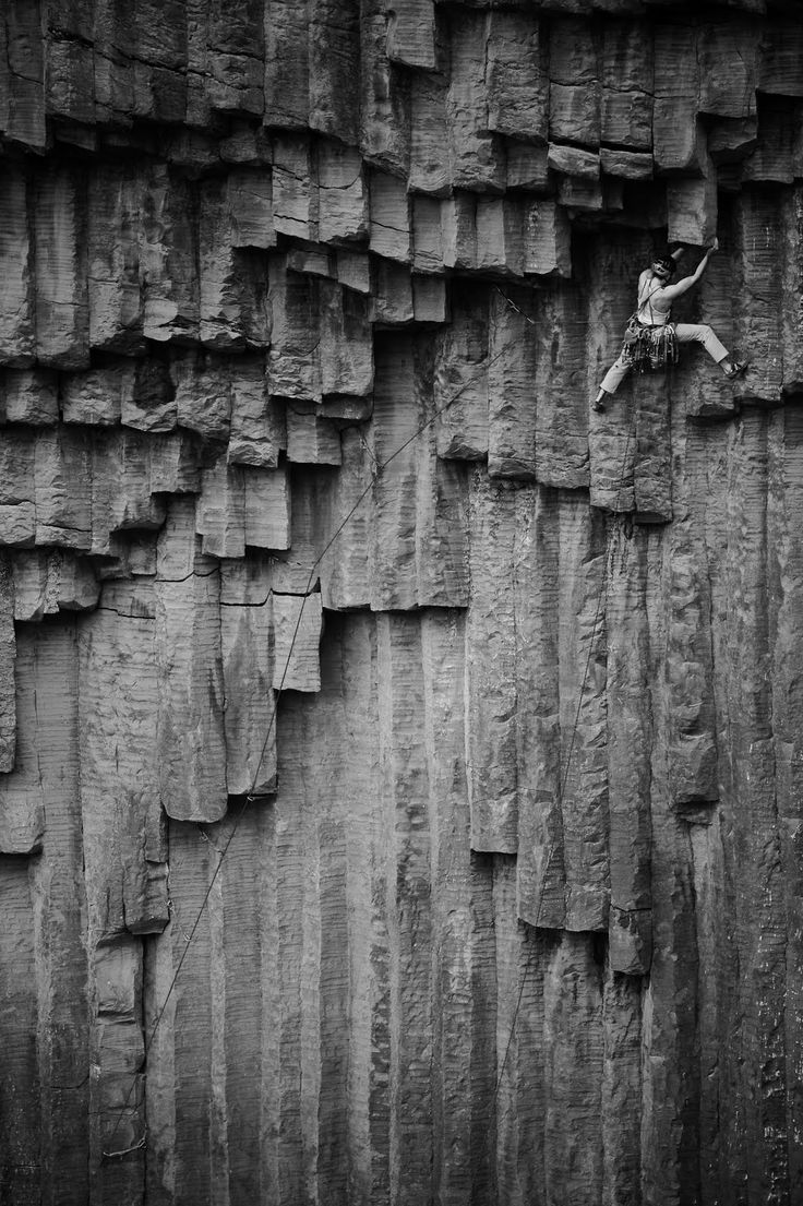 Impossible climbing