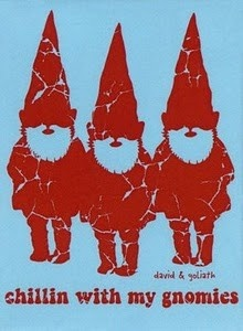 Chillin with my gnomes.