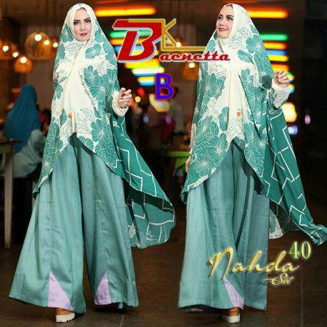 new-nahda-v40-1 baju muslim, mukena baru, busana terbaru, busana dress, bulan ramadhan dan idul fitri, gamis onliine