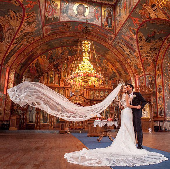 Wedding #Ceremony #location / Serbian Orthodox Church in Hamilton