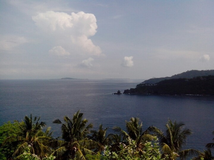 View at lombok,  so lovely