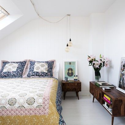 Discover bedroom design ideas on HOUSE - design, food and travel by House & Garden including House & Garden picture editor Owen Gale's loft