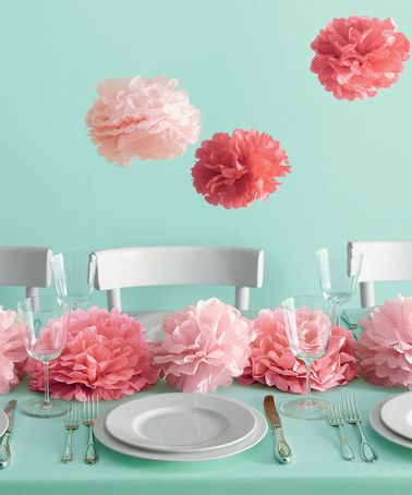 Pink Pom-Pom Craft Kit | Martha Stewart Crafts