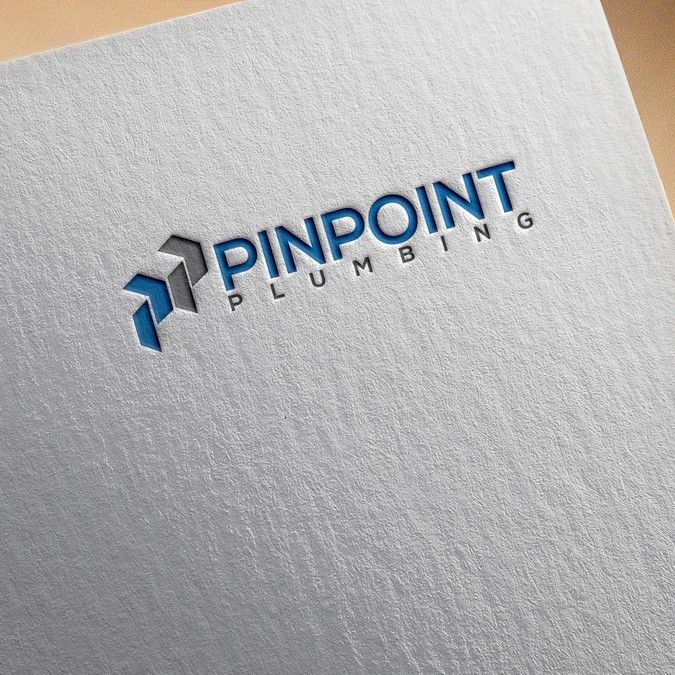 Create a neat simple and sophisticated logo for Pinpoint Plumbing by freedom52™