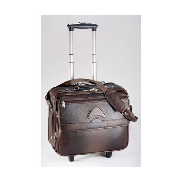 Leather Trolley Bags Customize Leather Corporate Gifts With Company Logo. #trolleyleatherbags #custombags