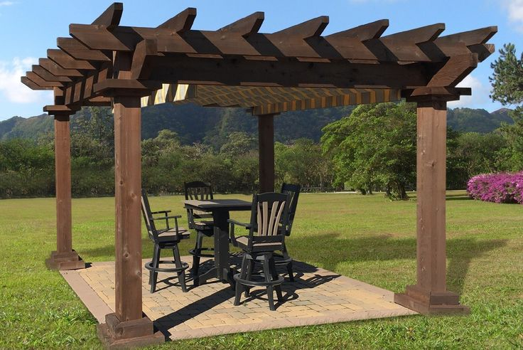 25 best ideas about pergola kits on vinyl pergola pergola shade covers and roof ideas