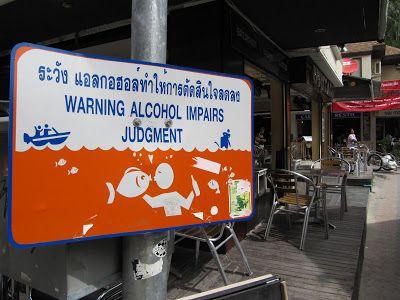 alcohol impairs judgement #skilt #komedie www.bli-kvitt-migrenen.no