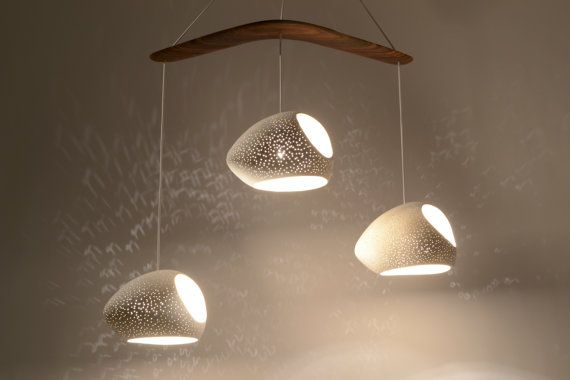 Ceiling lighting: Boomerang Double Cut  Chandelier  by lightexture