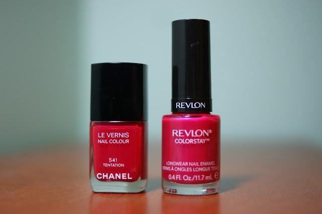 Chanel Tentation Nail Polish Dupe?