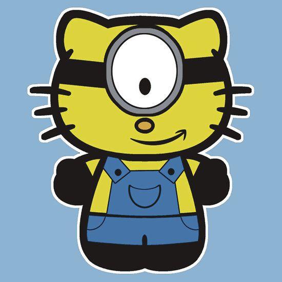 Despicable Me 2 - Hello Kitty Minion | Minions | Pinterest ...