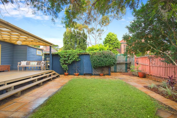 Character home on two titles with sunny garden, storage shed, laundry, 260 Elswick Street Leichhardt, Pilcher Residential