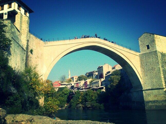 Old bridge, Mostar, Bosnia & Herzegovina