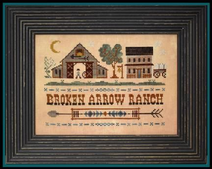 Little House Needleworks: Broken Arrow Ranch
