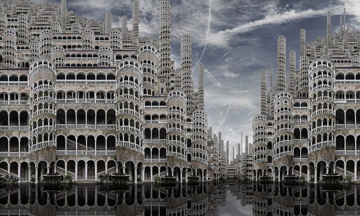 Hyperphotos by Jean Francois Rauzier, italy