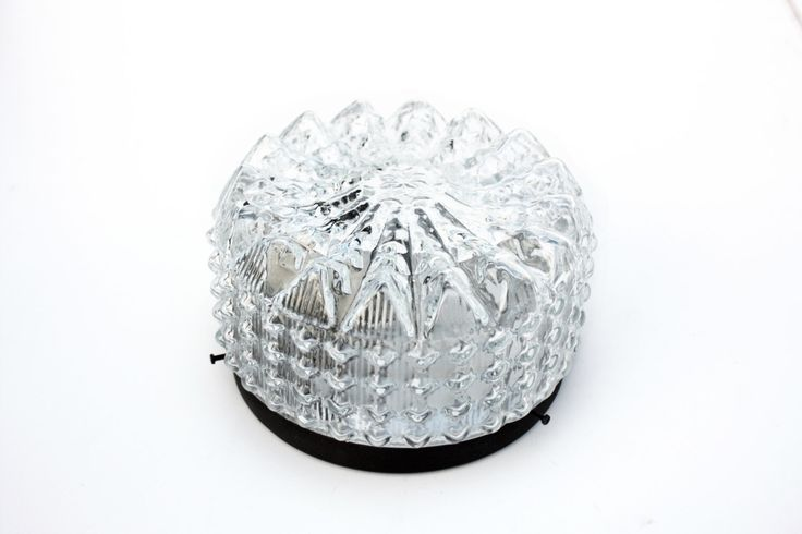 Flushmount lighting clear crystal by zeitlooos on Etsy https://www.etsy.com/listing/488555115/flushmount-lighting-clear-crystal