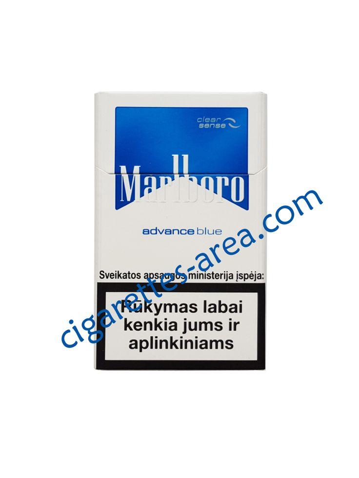 MARLBORO ADVANCE BLUE cigarettes