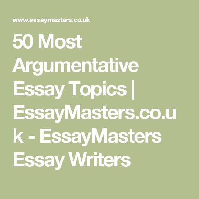 50 Argumentative Essay Topics - Reflect More Potentiality