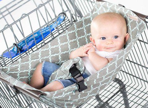 Binxy Baby - Shopping Cart Hammock. So cool!