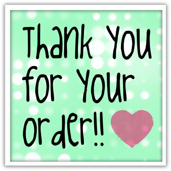 Thank You For Your Order >> Best 43 Thank You For Your Order Ideas On Pinterest Thank You For