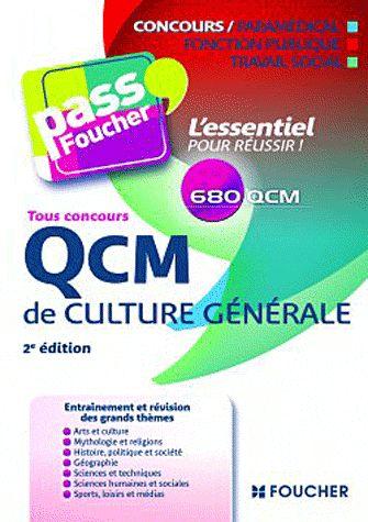 QCM de culture générale 2e édition - Valérie Béal