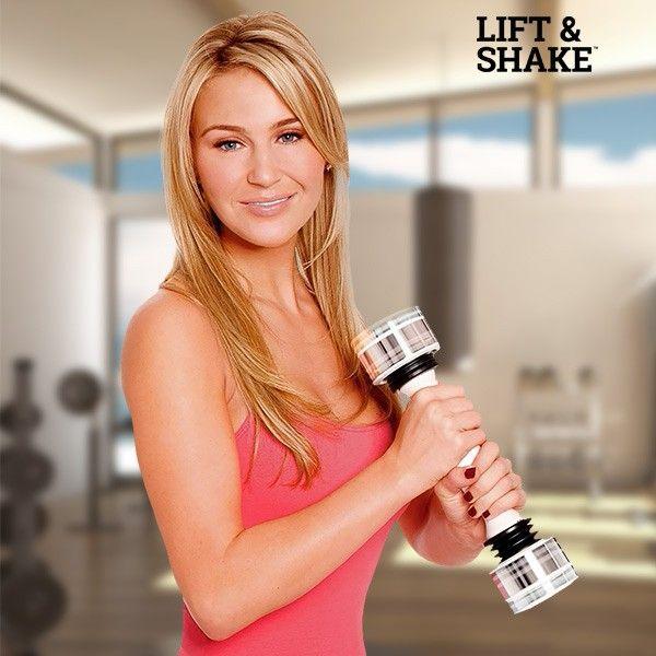 El mejor precio en Fitness Deportes y Ocio en tu tienda favorita  https://www.compraencasa.eu/es/fitness-aparatos-de-musculacion/7957-mancuerna-para-mujeres-lift-and-shake.html
