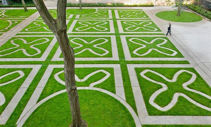 Trinity College Quadrangle, U of T #Garden #Toronto #U_of_Toronto