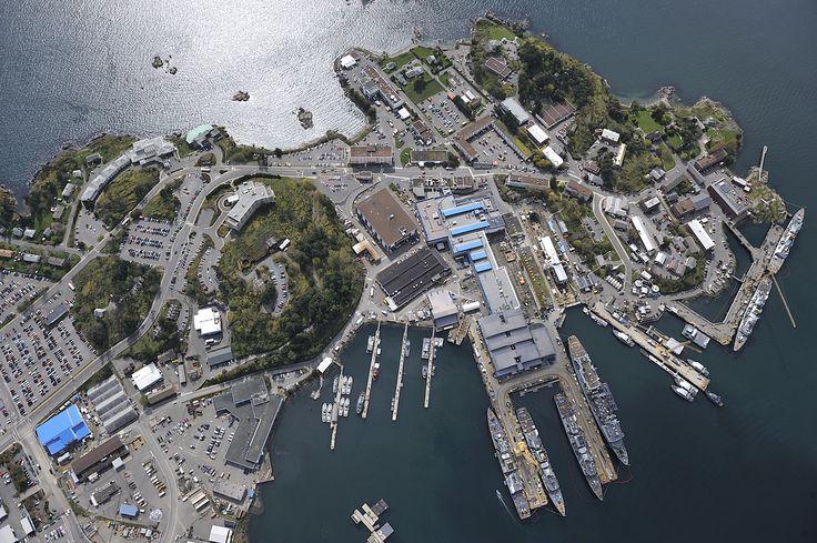 La Base des Forces canadiennes Esquimalt