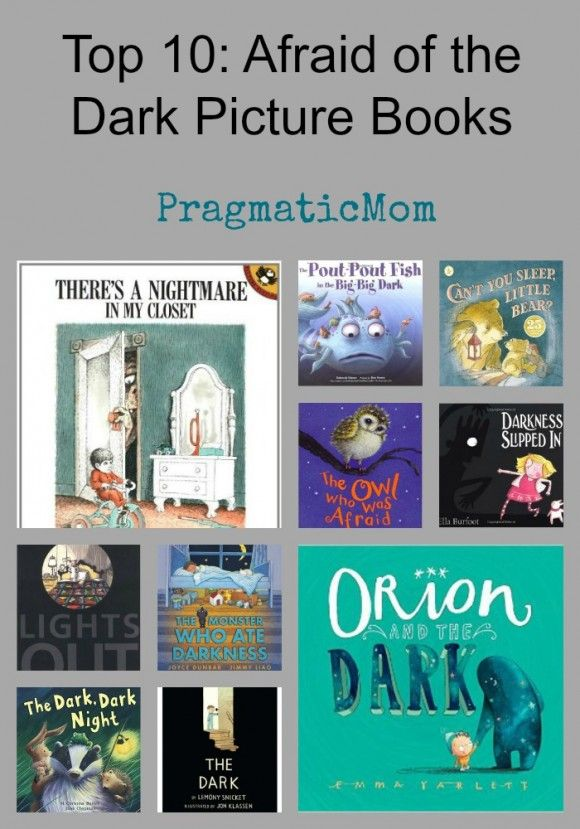 With the time change, it's getting darker earlier. Are your kids scared of the dark? It inspired me to create this list ...  Top 10: Afraid of the Dark Picture Books :: PragmaticMom