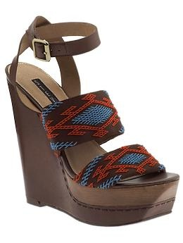 tribal chic shoes