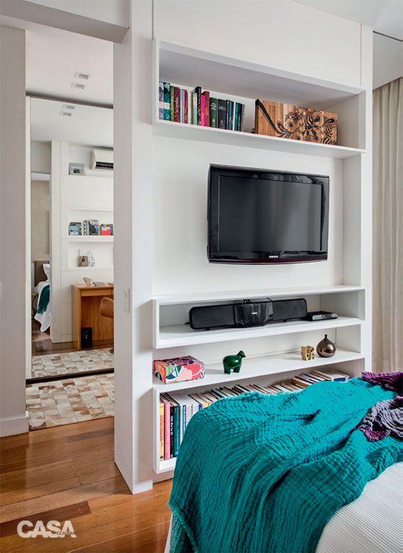 Quartos pequenos: 20 soluções para áreas compactas em 5 projetos - Casa