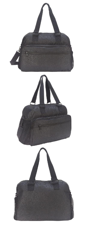Bolsa Feminina Mochila Esportiva Spinning 865 Xtrem Academia  Preta.Confeccionada em poliéster,possui capacidade média,dois bolsos fr… c390ae3b5b
