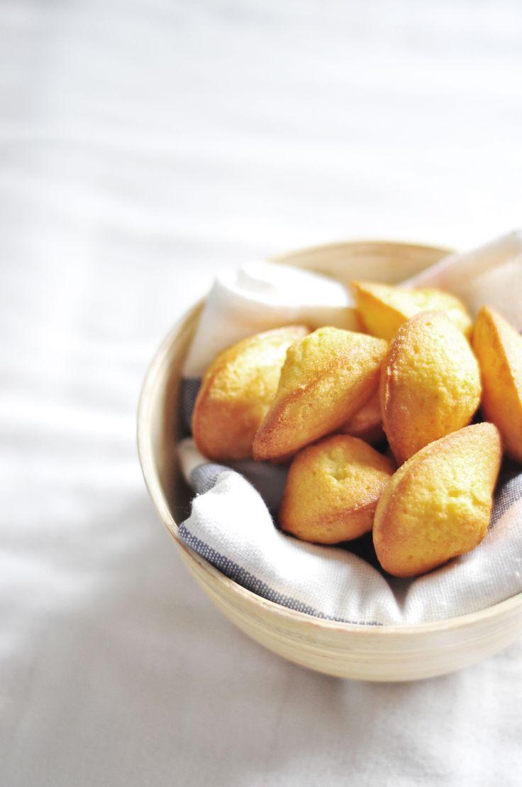 ... basic madeleines ...