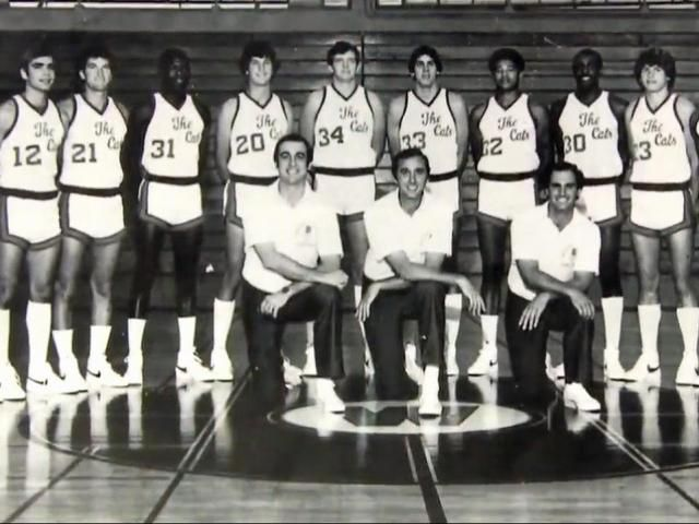 The first official 3-pointer in college basketball history swished in during a 1980 game between Western Carolina University and Middle Tennessee State.