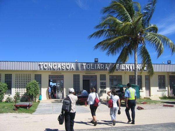 Tulear airport - southwest Madagascar http://madacamp.com/Tulear