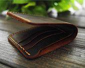 Mens Leather Wallet , Personalized Leather Wallet , Slim Leather Wallet , Custom Leather Wallet , Leather Bifold Wallet , Minimalist Wallet