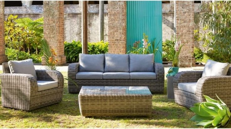 Home :: Outdoor :: Outdoor Lounges :: Buffalo 4 Piece Lounge Set