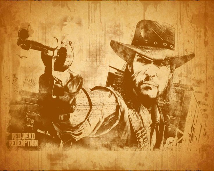 Video games western Red Dead Redemption Rockstar Games John