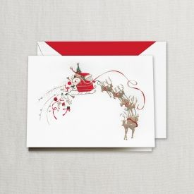 10 best crane christmas cards images on pinterest crane boxed crane santareindeer christmas cards m4hsunfo