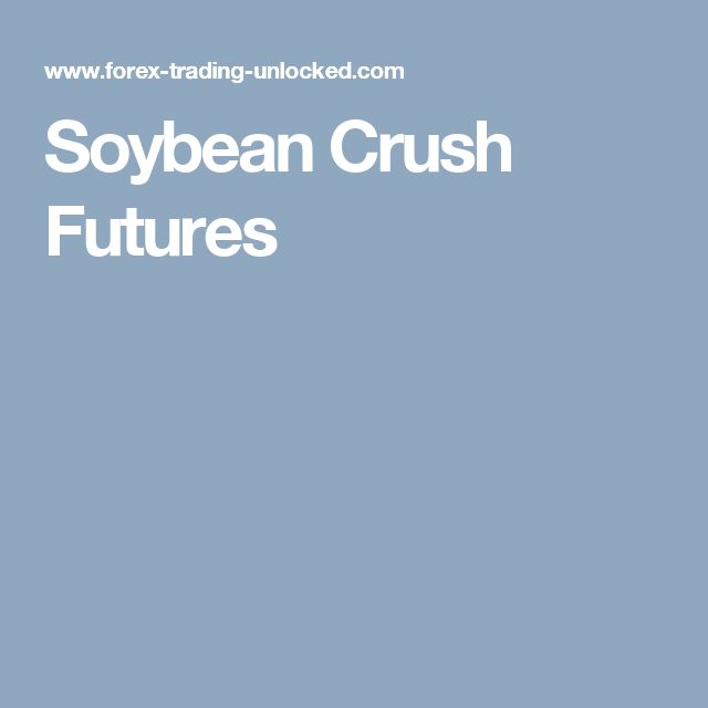Soybean Crush Futures