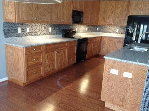 80 Best Images About Granite Medium Colored Wood Cabinets