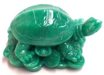 Feng Shui Green Turtles at fengshui-import