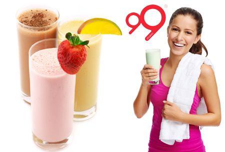 99 Shakes: maaltijdvervangende shakes | starterspakket + GRATIS fles