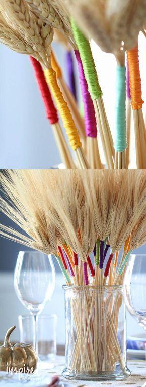 13 pomysłów na własnoręcznie wykonane jesienne dodatki do domu