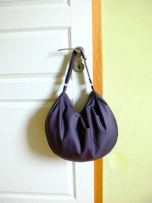 Faux Leather Shoulder Bag,  Crossbody Bag, Zipered Purse, by MiniwerkaToys on Etsy